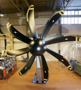 Ideal Reinforcement for Propellers
